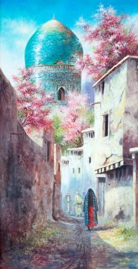 Paintings of the old eastern city