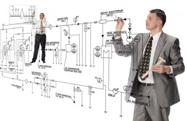 Engineering building designing