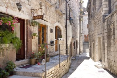 Tight street in Kotor - Montenegro