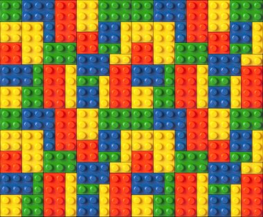 Color Lego background
