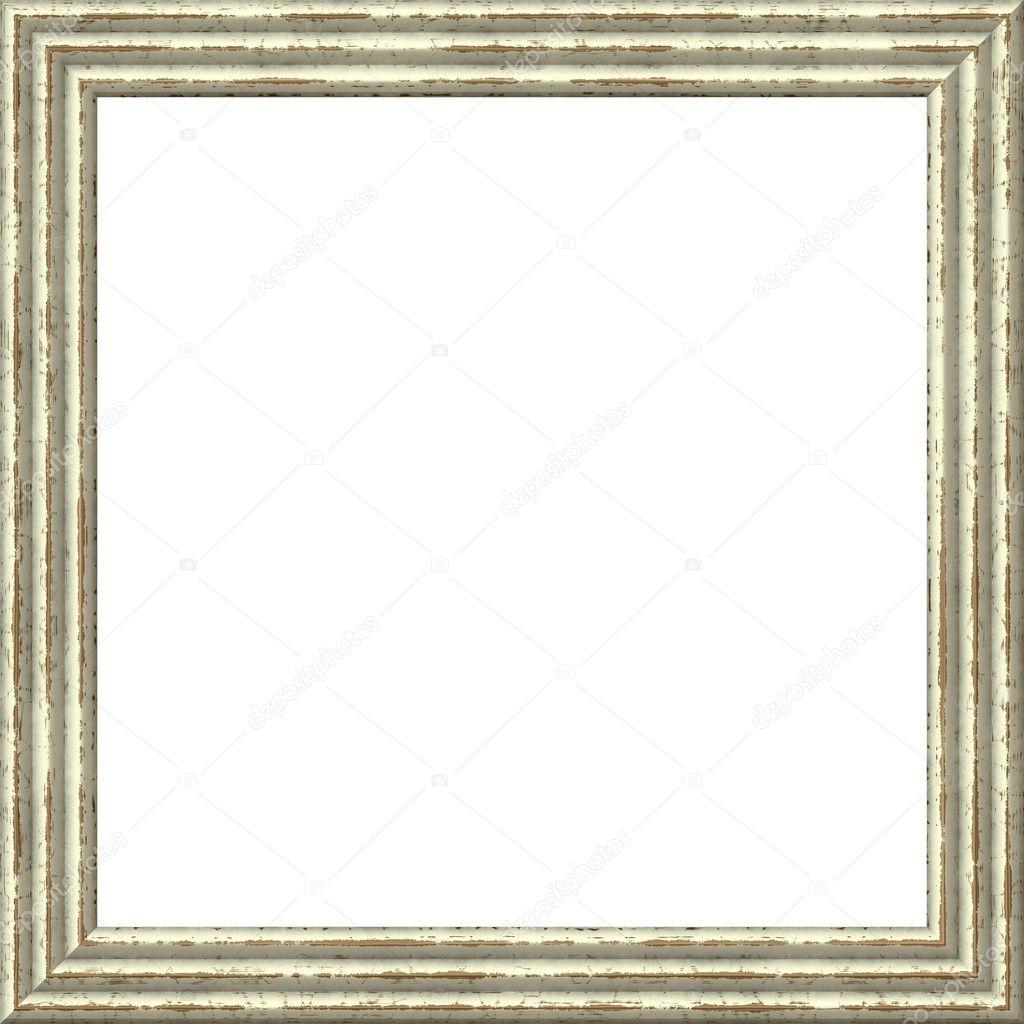 vintage bilderrahmen, holz vergoldet, weißer hintergrund, Moderne