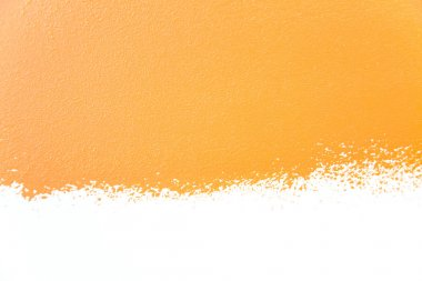 Painted wall's background / orange / real texture
