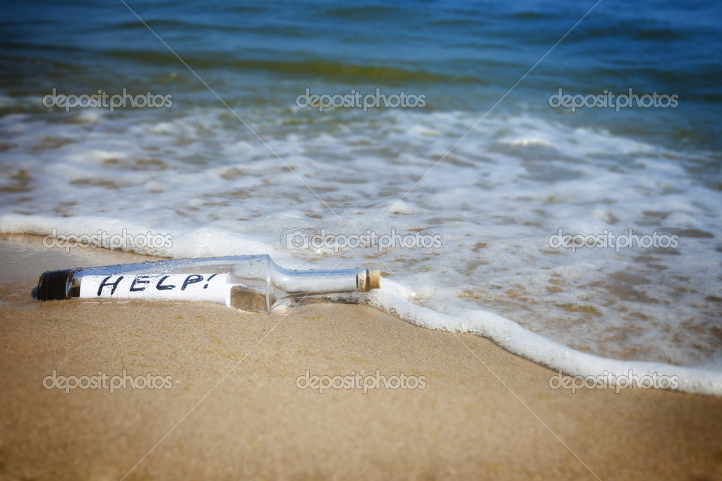 Message in a bottle / Help!
