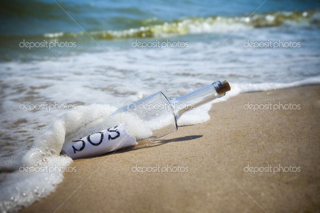 Message in a bottle / SOS!