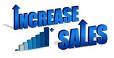 Increase Sales chart and text file also available. / Increase Sales