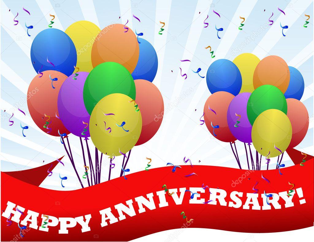 Banner Feliz Aniversario: Images: Happy Anniversary Balloons