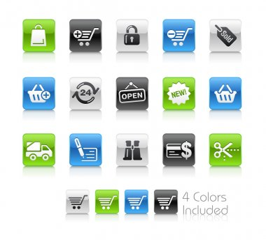 Shopping Icons // Clean Series