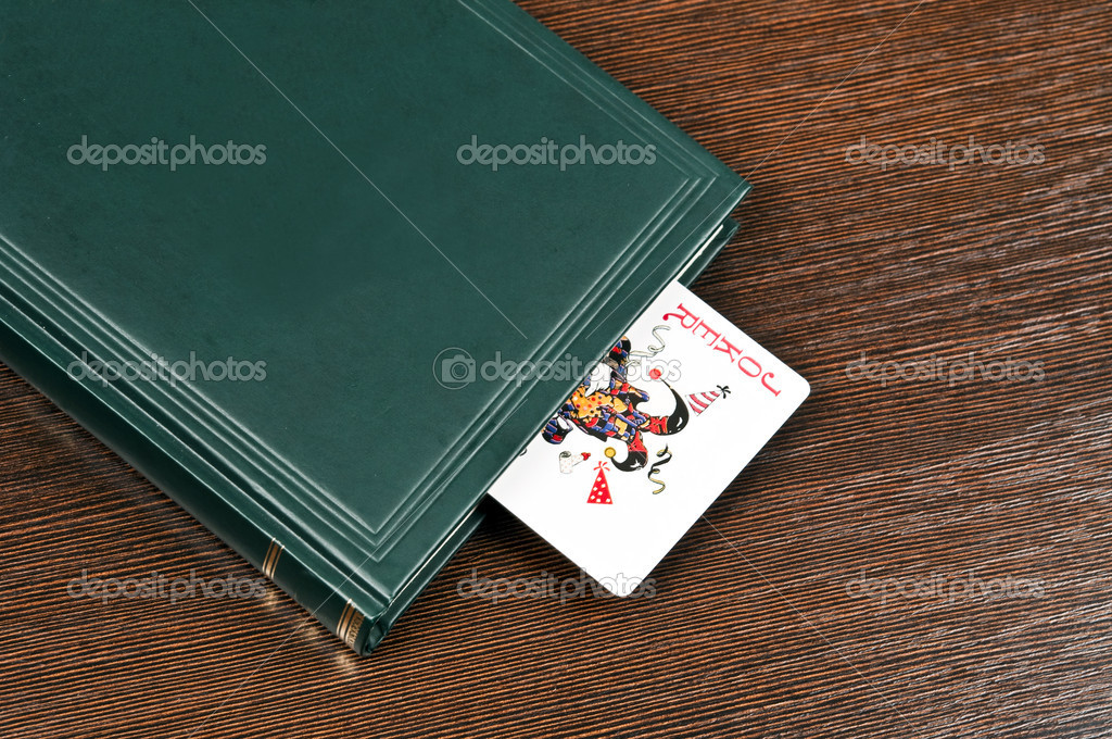 Kniha A Zolik Karta Stock Fotografie C Fuzzbones 6235382