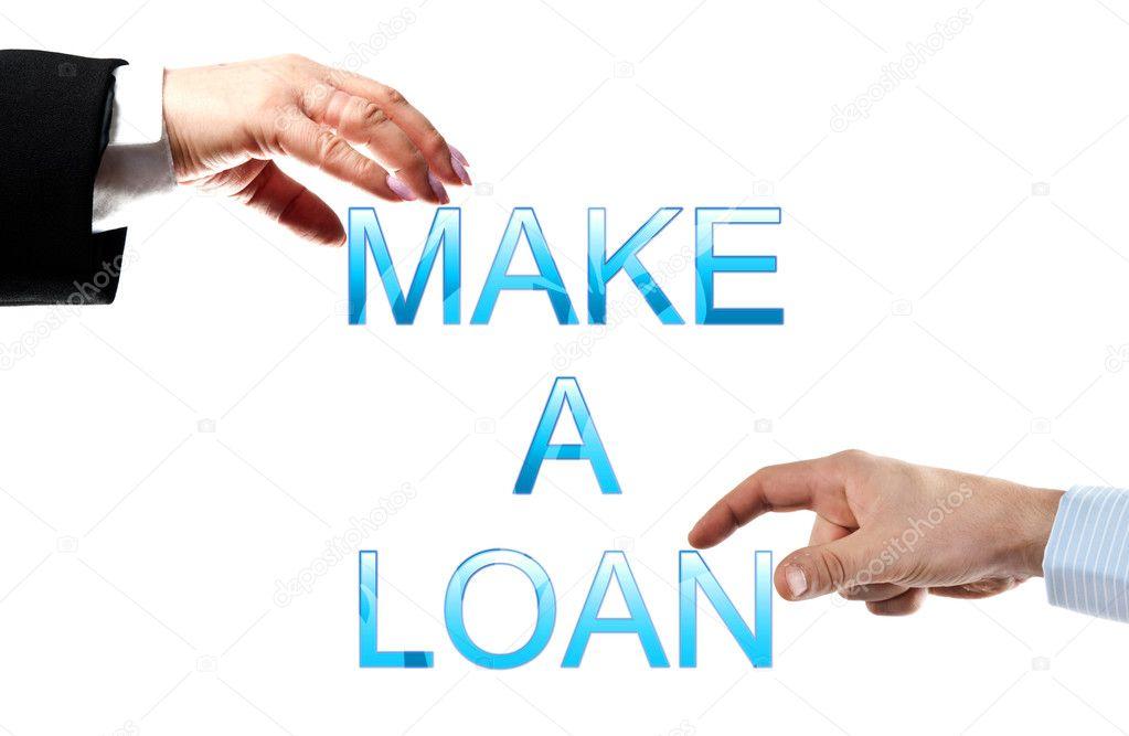 fare un parole di prestito — Foto Stock © fuzzbones #6239747