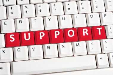 Support word on keyboard