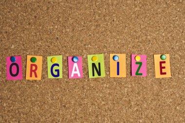 Organize word