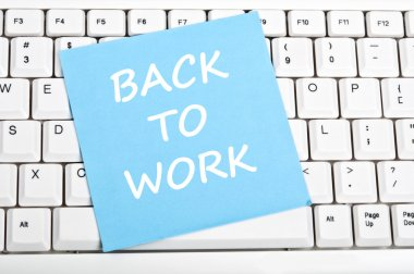 Back to work message