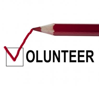 Volunteer message