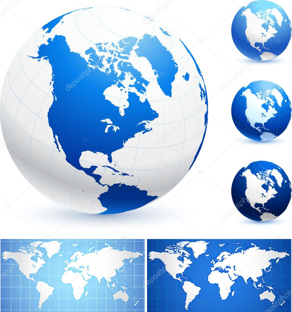 Globes and World Maps