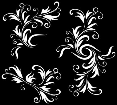 Abstract Black and White Design Pattern