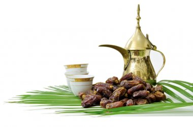 Arabic Coffee with Dates Fruit