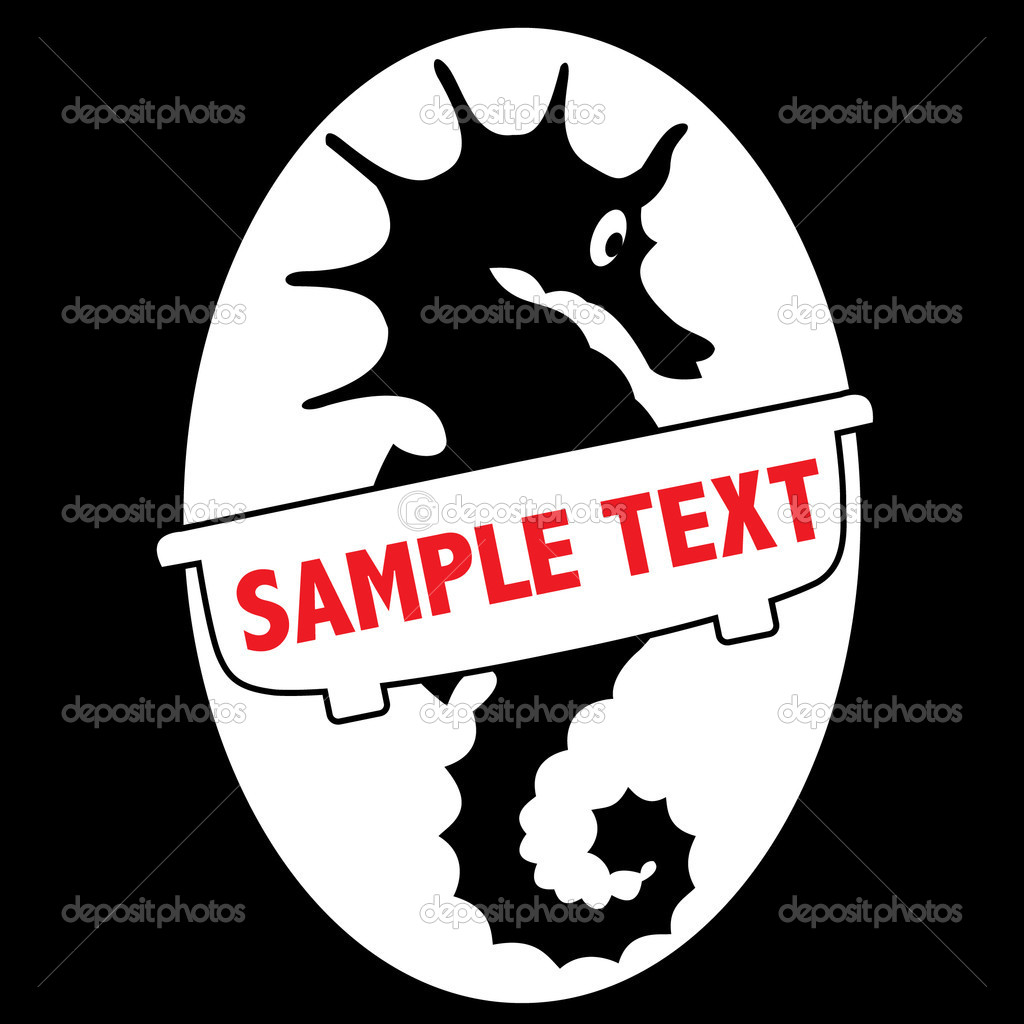 Symbol of hippocampus for bussines stock vector azulex 5608029 symbol of hippocampus for bussines stock vector 5608029 biocorpaavc Choice Image