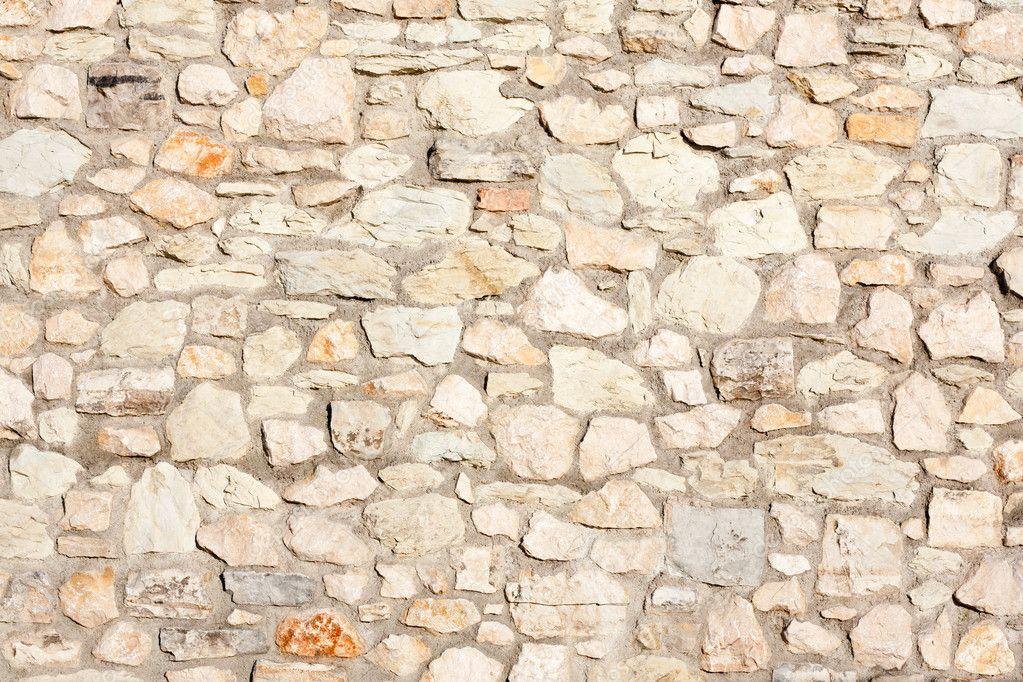 Steinmauer Mediterran mediterrane natur steinmauer hintergrund stockfoto stockhouse
