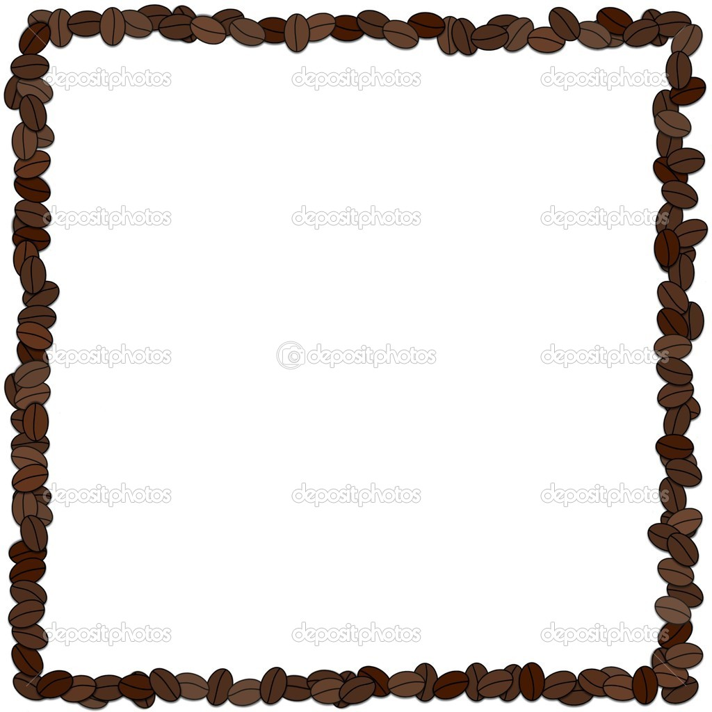Coffee bean frame — Stock Photo © darrenw #5465465