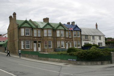 Town hall in Port Stanley, Falklands