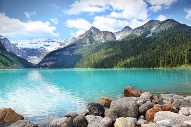Lake Louise located in the Banff National Park