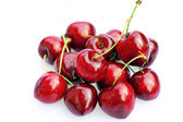 Fotografie Cherries isolated on white