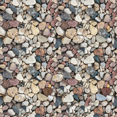 Сoloured gravel. High-resolution seamless texture
