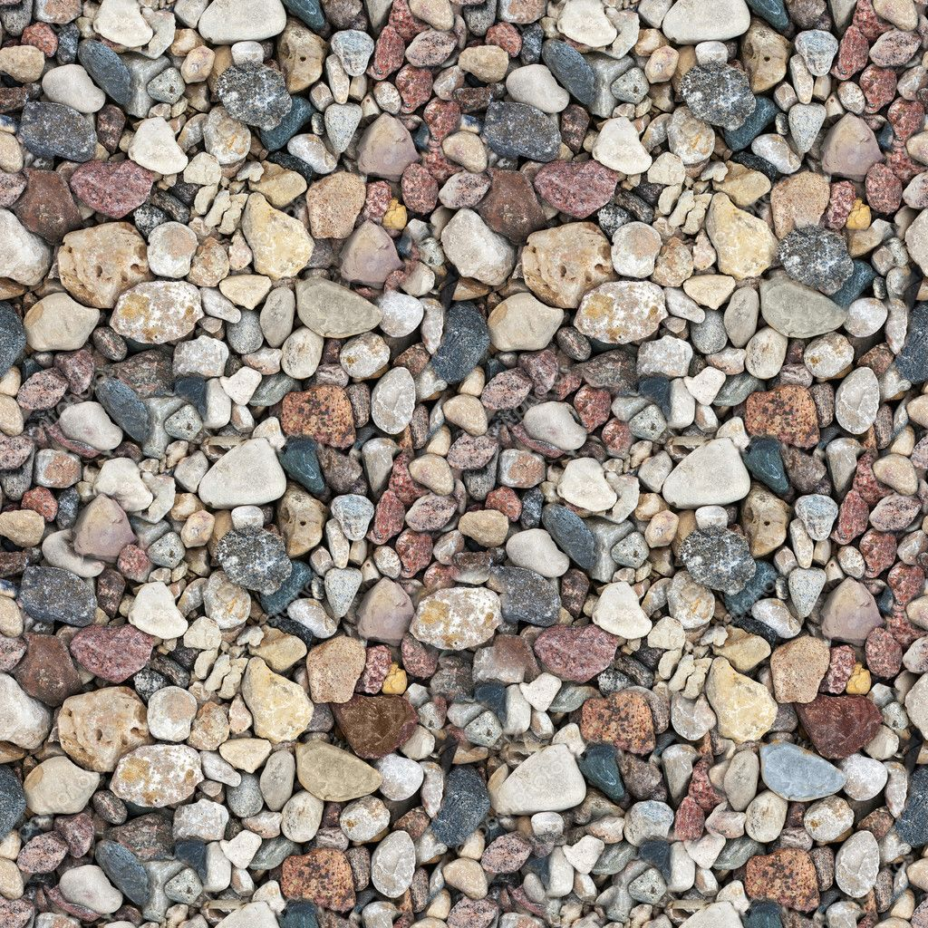Сoloured gravel. High-resolution seamless texture