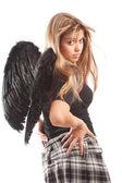 Anděl s černými křídly