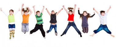 Jumping kids collection