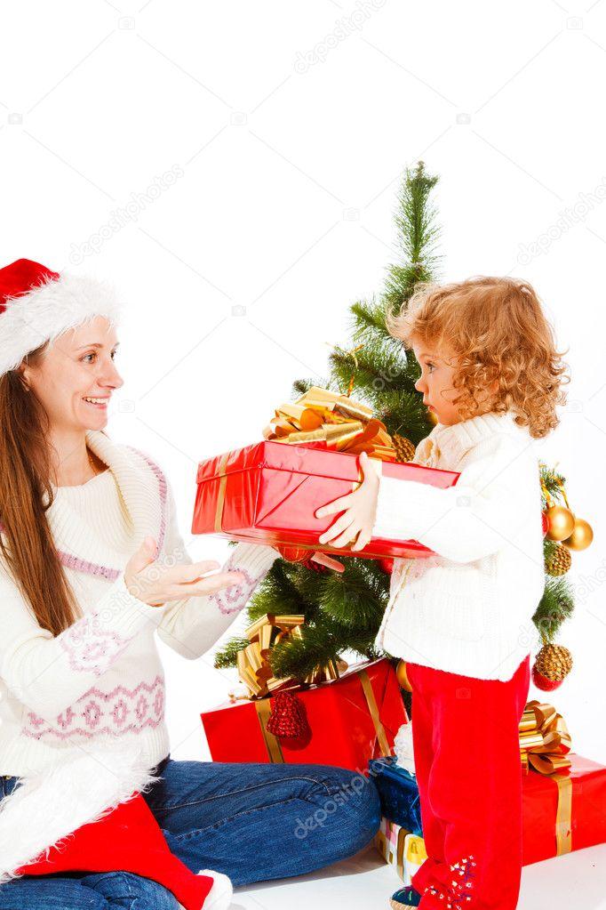 Navidad mama regalo de navidad para mam foto de stock - Regalo navidad mama ...