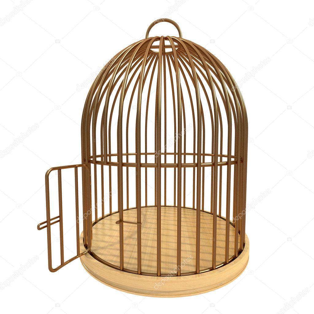 Golden Cage Stock Photo 169 Whitehoune 6742111