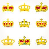 Set of crowns royal