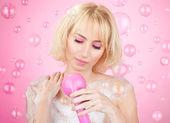 Fényképek rózsaszín zuhany