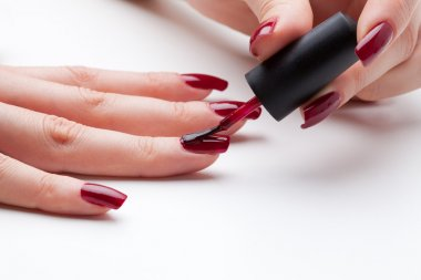 Painting fingernail