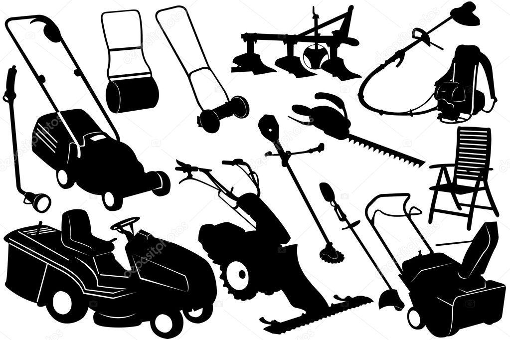 Tools and equipment garden