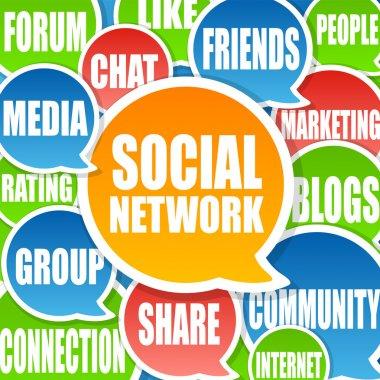 Social Network Background