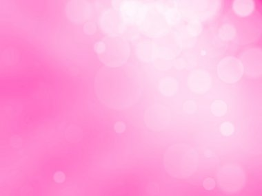 Beautiful abstract pink background of holiday lights