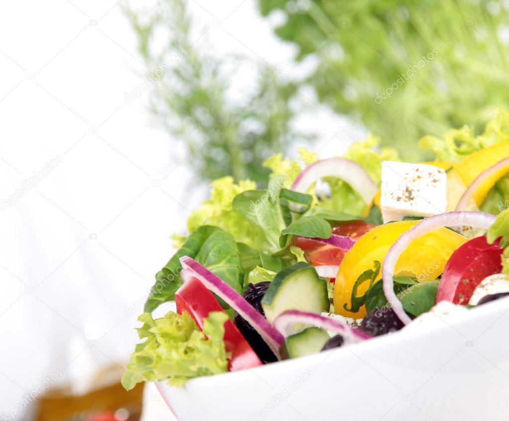 Fresh Garden Salad Stock Photo C Kesu01 5971525