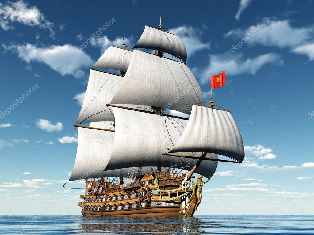 French Sailing Ship