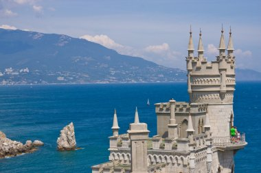 Lastochkino Gnezdo - landmark of Yalta