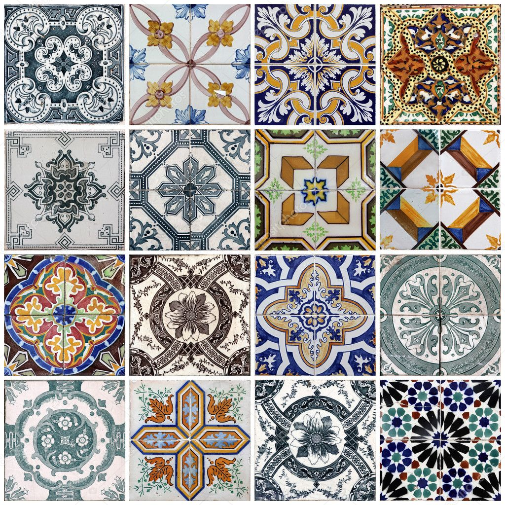 Lisbon tiles stock photo boggy22 5996240 for Modele de carrelage