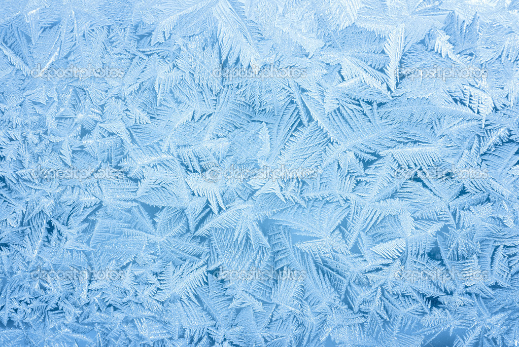 Abstract frost background
