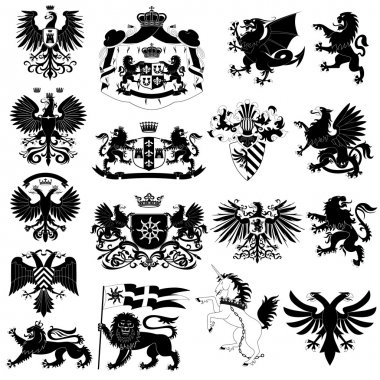 Coat of arms set