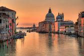 Canal grande v Benátkách