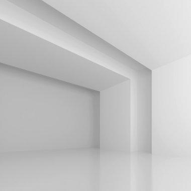 White Futuristic Hall