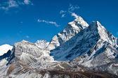Ama dablam hory, ledovce khumbu, Nepál