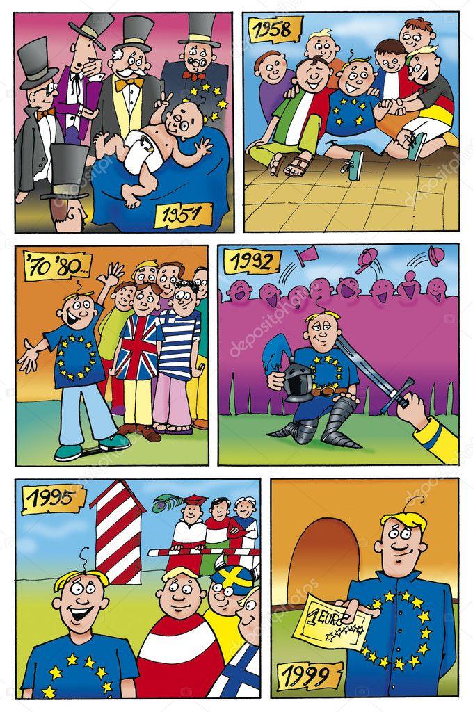 bande dessinee union europeenne