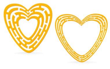 Golden heart maze