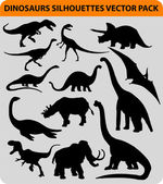 Fotografia sagome di dinosauro